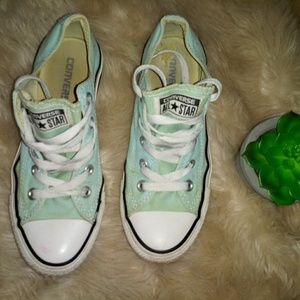 Converse Shoes - Converse mint color canvas shoes size 4y
